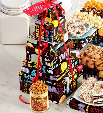 The Popcorn Factory Fun with Snacks Tower