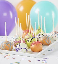 Best Birthday Ever! Truffle Cake Pops