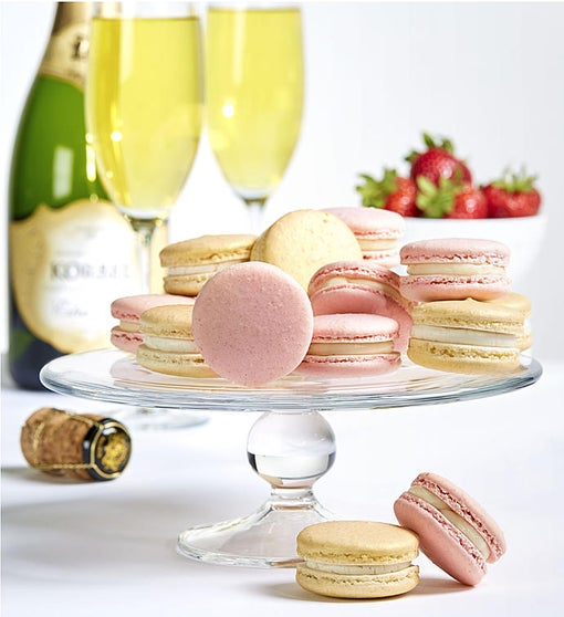 Dana's Bakery Champagne & Strawberries Macarons