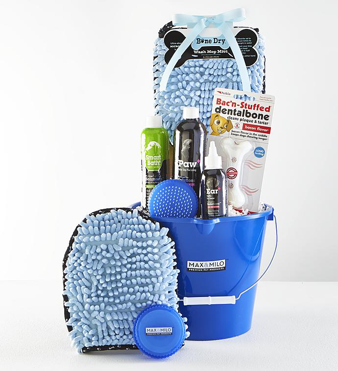 Max  Milo Dog Grooming Gift Basket