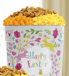 The Popcorn Factory Happy Easter 3 Way Tin 3.5G
