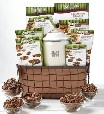 Snappers® Chocolate Treats Gift Basket