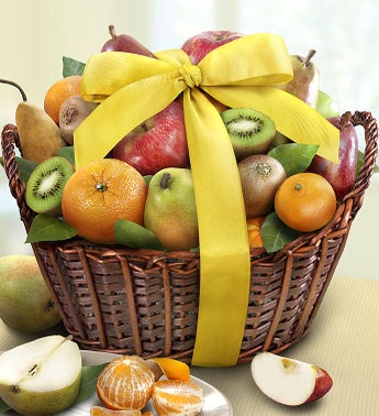 Spring Celebrations Premium Fruits Gift Basket
