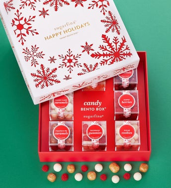 Sugarfina Holiday Candy Bento Box