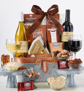 Toast  Celebrate Wine Gift Basket