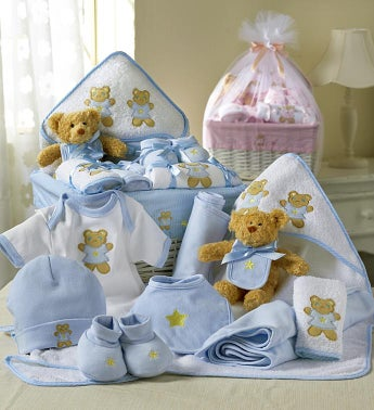 Comfy Baby Newborn Boy Basket