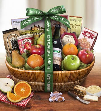 Father's Day Farmstand Finest Fruit Gift Basket