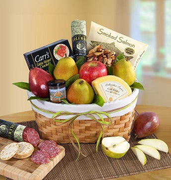 Pacific Northwest Fruit & Gourmet Gift Basket
