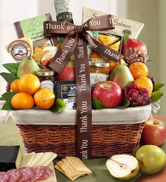 You Shouldn't Have Thank You Gift Basket