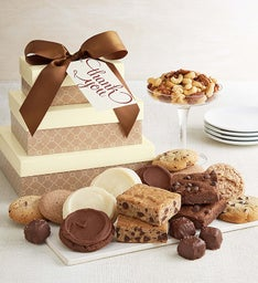 Sugar free diabetic desserts gift baskets harry david cheryls message sugar free gift tower negle Choice Image