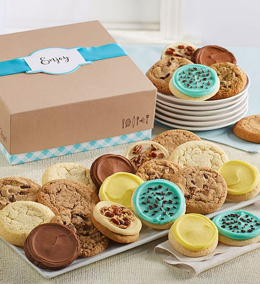 Cheryl's Cookie Gift Boxes with Message Tag - 36 Cookies