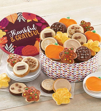 Fall Gift Tin - Frosted Assortment