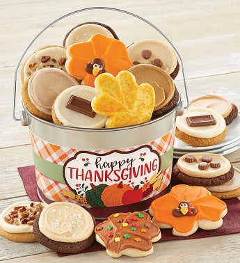 Thanksgiving Cookie Pail