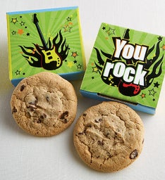 You Rock Cookie Card