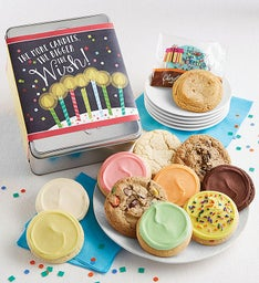 More Candles Bigger Wish Gift Tin