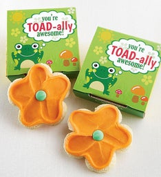 You're Toad-ally Awesome Cookie Card Case