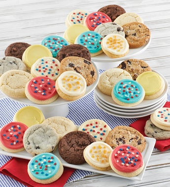 Americana Cookie Box