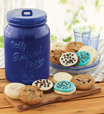 Collectors Edition Cookie Jar and 2 Month Refill