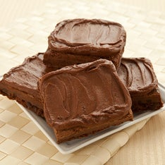 FROSTED CHOCOLATE FUDGE