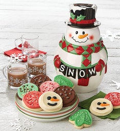 Collector39s Edition Snowman Cookie Jar