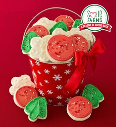 Holiday Cut-outs Gift Pail