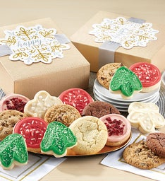 Happy Holidays Sparkling Cookie Gift Box