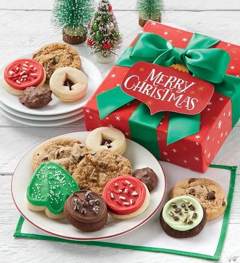 Merry Christmas Holiday Treats Box