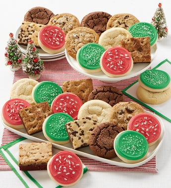 Holiday Cookies and Brownies