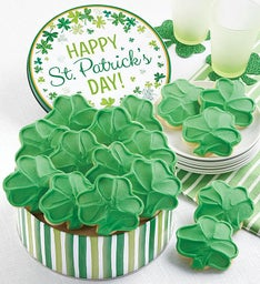 St Patrick's Day Gift Tin Cut-outs