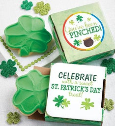 You've Been Pinched St Patty's Cookie Card