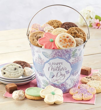 Happy Mothers Day Treats Gift Pail