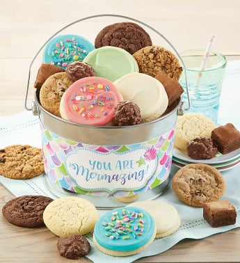 You are Mermazing Treats Gift Pail