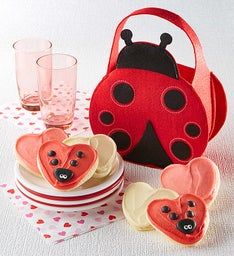 Ladybug Tote with Cutouts
