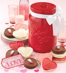 Collector's Edition Valentine Cookie Jar