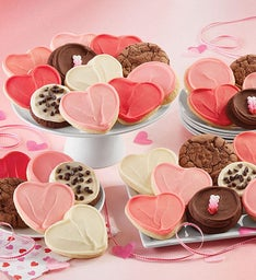 Valentine's Day Premier Buttercream Frosted Cookies