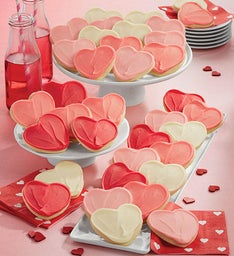 Buttercream Frosted Valentine's Day Cut-outs