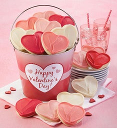 Valentine's Day Cut-out Gift Pail