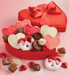 Valentine Satin Gift Box