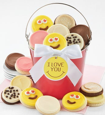 I Love You Cookie Gift Pail