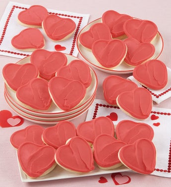 Buttercream Frosted Valentine Gift Boxes