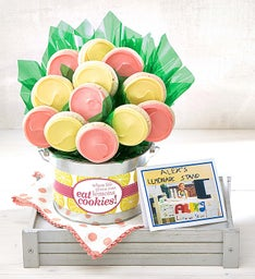 Alex's Lemonade Stand Cookie Flower Pot