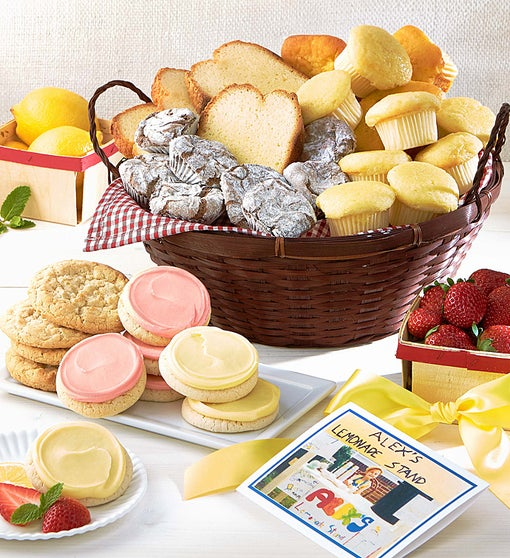 Alex's Lemonade Stand Gift Basket