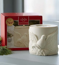 Lenox® Porcelain Dove Tea Light