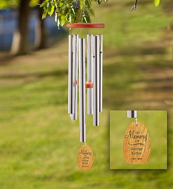 Personalized Amazing Grace Remembrance Chime