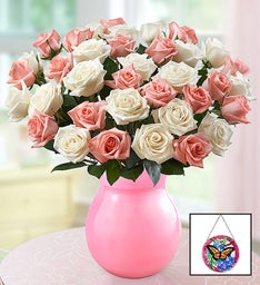 Lovely Mom Roses, 18-36 Stems