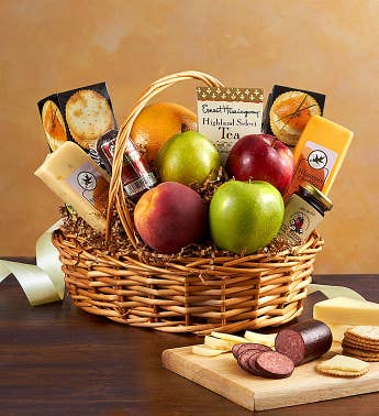Fruit & Gourmet Basket