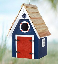 Dockside Cabin Birdhouse