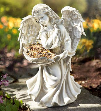 Peaceful Angel Birdfeeder