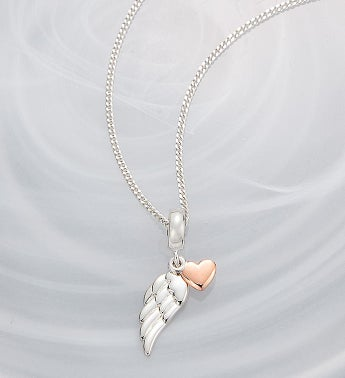Chamilia  Angel Wing Charm Necklace