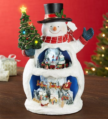 Musicbox Kingdom Magical Snowman-12